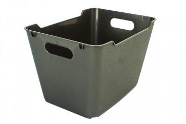 Loft műanyag tároló doboz 1,8 L, grafit, 19,5x14x10 cm UTOLSÓ 24 DB