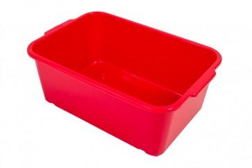 Magic műanyag tároló doboz, nagy, piros, 30x20x11 cm