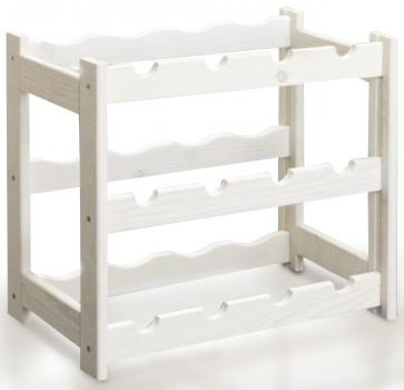 Riper Bortartó, 12 üvegre, Lazúr – fehér, 38x44x25 cm