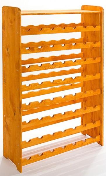 Rack Bortartó, 56 üvegre, Lazúr – mahagón, 118x72x27 cm