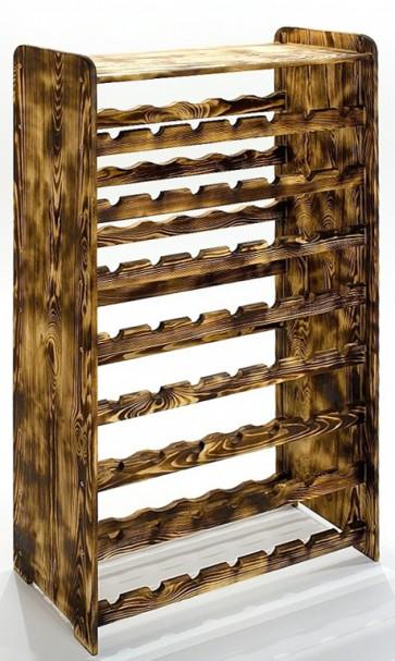 Rack Bortartó, 56 üvegre, Rusztikál, 118x72x27 cm