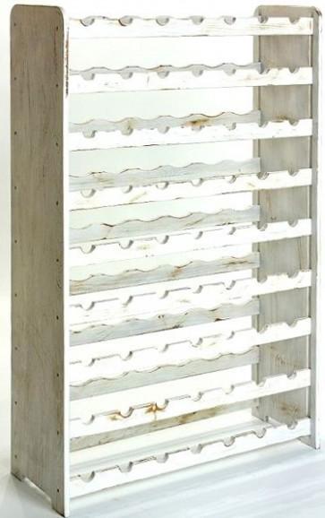 Racon Bortartó, 63 üvegre, Provance – fehér, 118x72x27 cm