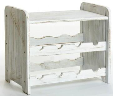 Romman Provance, 8 üvegre, Provance – fehér, 38x42x27 cm