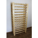 """Állvány borok tárolására, 91 üvegre,""""Natur"""", 166,4x80x29,3 cm"""