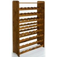Rack Bortartó, 56 üvegre, Lazúr – paliszander, 118x72x27 cm
