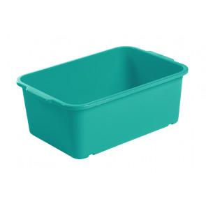 Magic műanyag tároló doboz, nagy, tengerkék, 30x20x11 cm