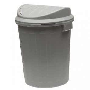 """Odpadkový koš """"Super-Swing"""" 50 l, stříbrný - POSLEDNÍCH 5 KS"""