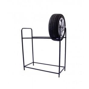 Keréktartó állvány, fekete, 8 db kerékre, UTOLSÓ 2 DB
