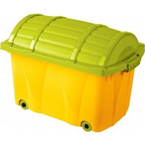 """""""KALÓZ"""" gyerek tároló doboz 42 L, 58x37x40xcm"""