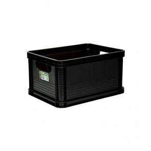 Robusto műanyag tároló doboz 20 L, grafit, 40x30x22 cm