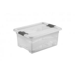 Kedvezményes műanyag doboz szett Crystal 12 l, 6 db
