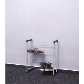 Praktik fém cipőállvány, 55x46x21 cm, 8 pár cipőnek