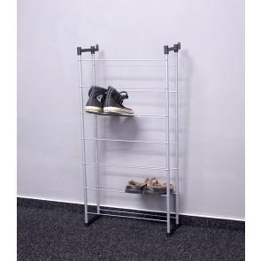Praktik fém cipőállvány, 92x46x21 cm, 14 pár cipőnek