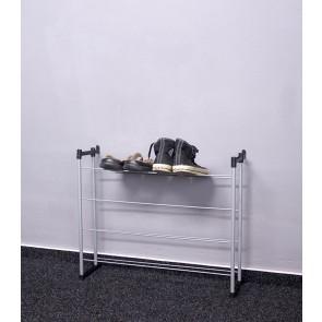 Praktik fém cipőállvány, 53x66x21 cm, 12 pár cipőnek