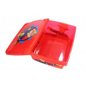 "Fashion műanyag tároló doboz,""Fireman Sam"", 39x29x14 cm"