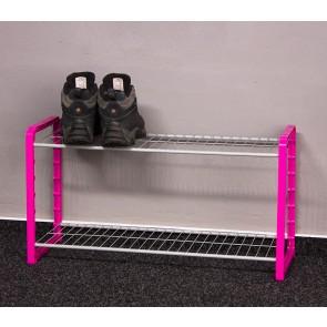 Combi cipőtartó, rózsaszín, 6 pár cipőre