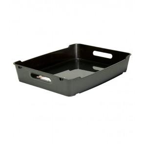 Loft műanyag tároló doboz A4, grafit, 37x28,5x6,5 cm