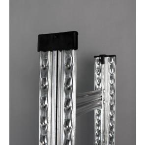 Gumiabroncs tároló oszloprész, 197x106x34 cm