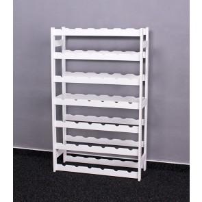 Roots Bortartó,42 üvegre, lazúr - fehér, 102x62,5x25 cm