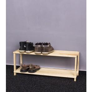Fa cipőtartó RBO-2, 30x77x26 cm