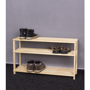 Fa cipőtartó RBO-3, 45x77x26 cm