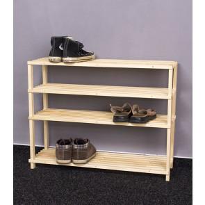 Fa cipőtartó RBO-4, 60x77x26 cm