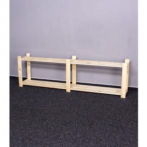 Tároló polc, 2 polc, 50x170x28 cm