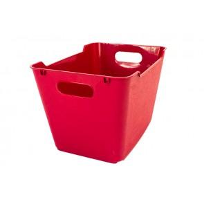 Loft műanyag tároló doboz 1,8 L, sötétpiros, 19,5x14x10 cm - UTOLSÓ 18 DB