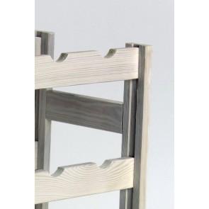 Rendal Bortartó, 30 üvegre, Lazúr - fehér, 86x53x25 cm