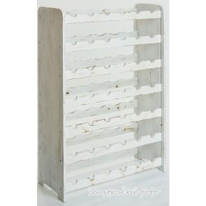 Rutkin Bortartó, 42 üvegre, lazúr – fehér, 94x63x27 cm