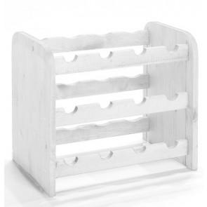 Roder Bortartó, 12 üvegre, Lazúr – fehér, 38x42x27 cm