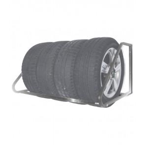 Falra szerelhető keréktartó állvány, cinkelt